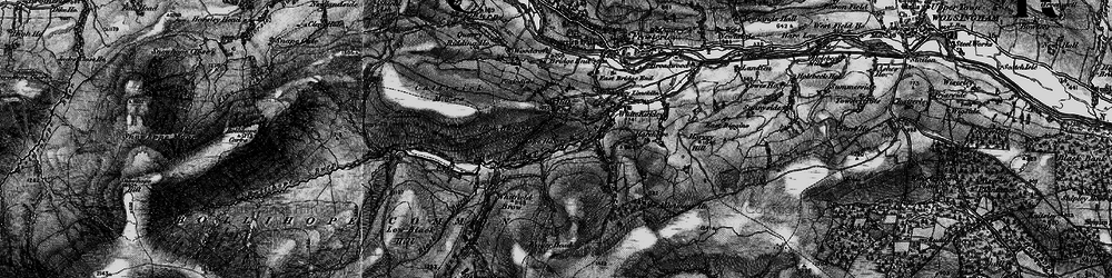 Old map of White Kirkley in 1898