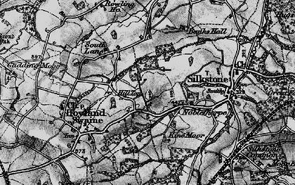 Old map of Hill Top in 1896