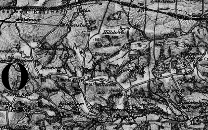 Old map of West Wotton in 1898