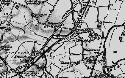 Old map of Williford in 1898