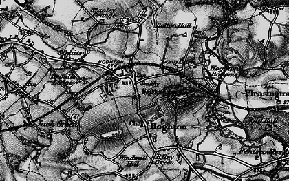 Old map of Windmill Hill in 1896