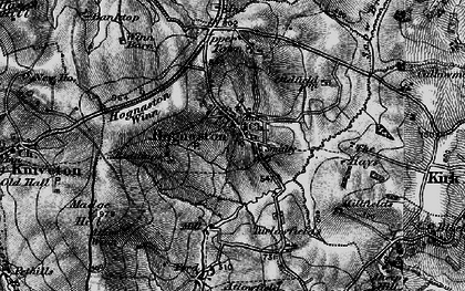 Old map of Atlow Winn in 1897
