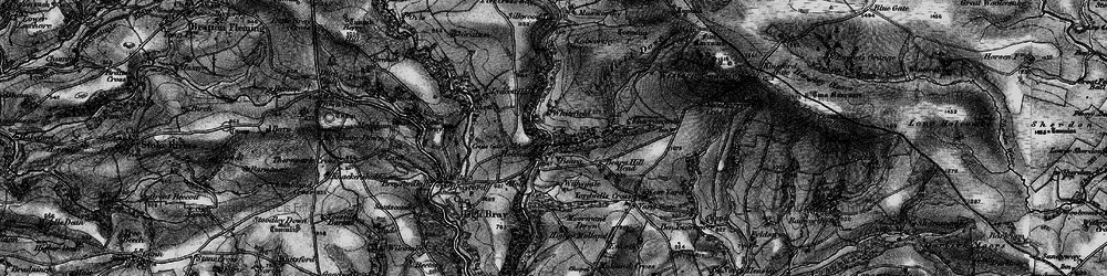 Old map of Withygate in 1898