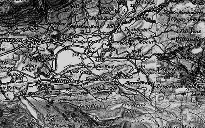 Old map of Thursgill in 1897