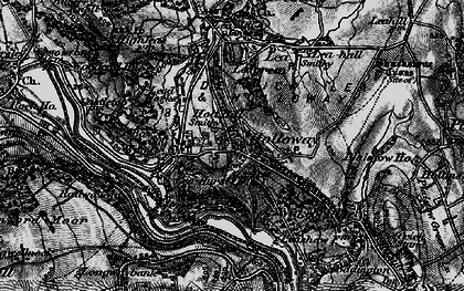 Old map of Holloway in 1896
