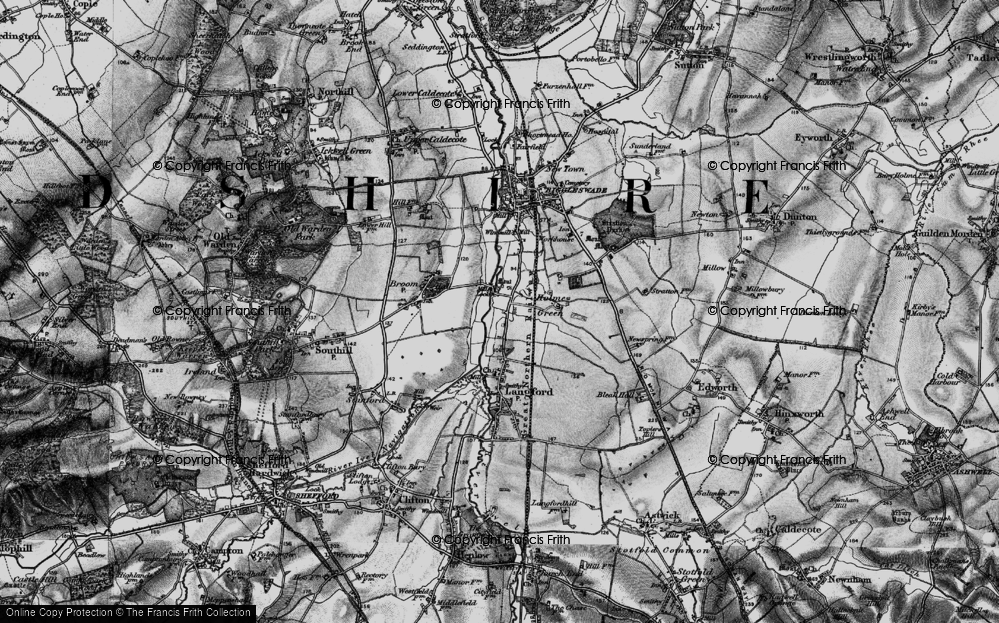 Old Map of Holme, 1896 in 1896
