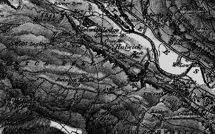 Old map of Wynch Br in 1897