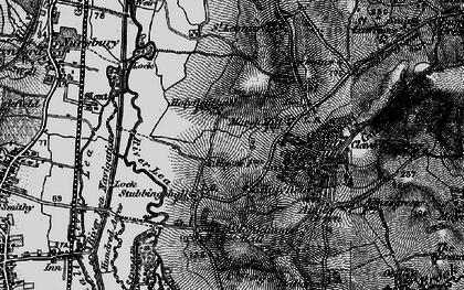 Old map of Langridge in 1896