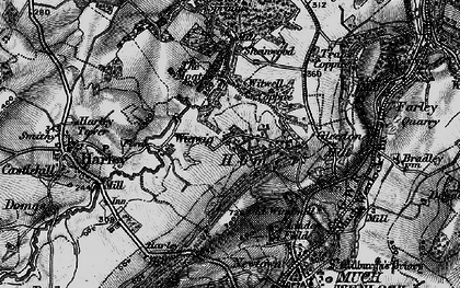 Old map of Wigwig in 1899