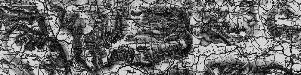 Old map of Wissington Grange in 1896