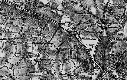 Old map of Winterbottom in 1896