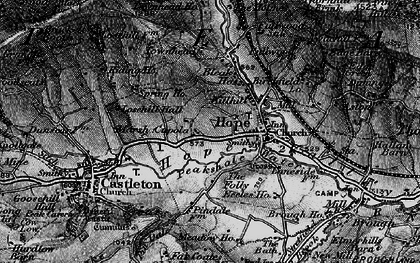 Old map of Hope in 1896
