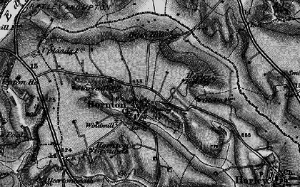 Old map of Bush Hill in 1896