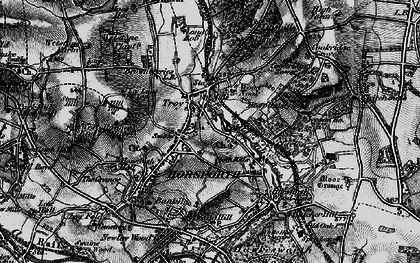 Old map of Horsforth in 1898