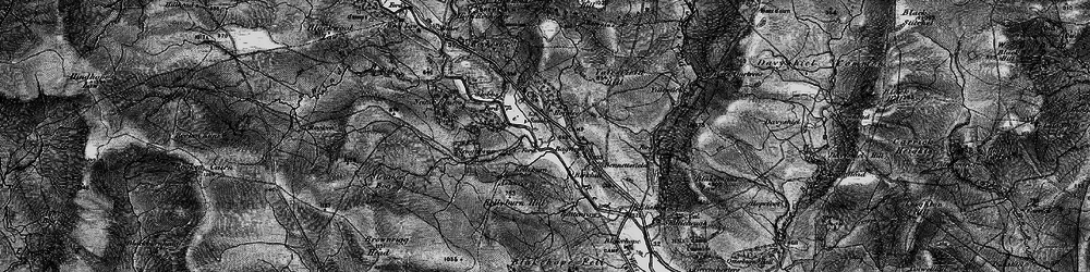 Old map of Yatesfield in 1897