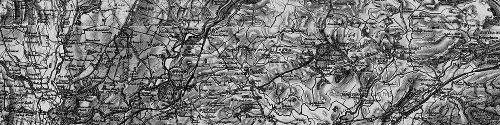 Old map of Willcross in 1898