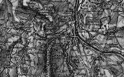 Old map of Horwich End in 1896