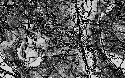 Old map of Howden-le-Wear in 1897