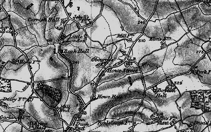 Old map of Yeldhams in 1895