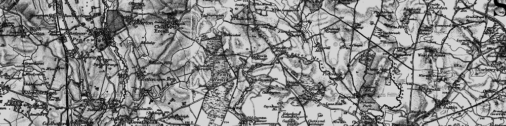 Old map of Ercall Heath in 1897