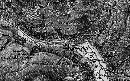 Old map of Hubberholme in 1897