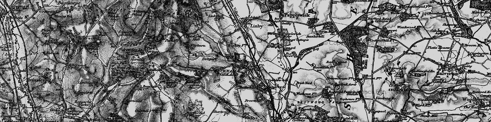 Old map of Wighay in 1895