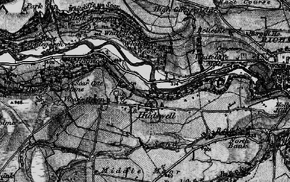Old map of Whitcliffe Wood in 1897