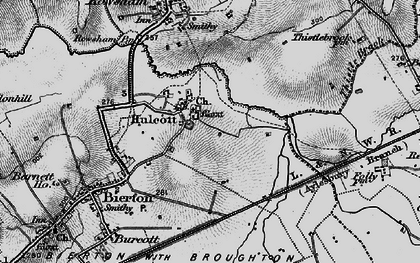 Old map of Aylesbury Ring in 1896