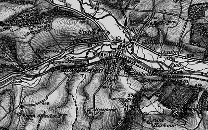 Old map of Hungerford in 1895