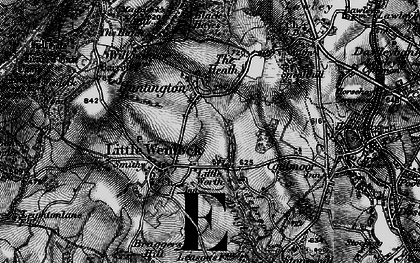 Old map of Willowmoor in 1899