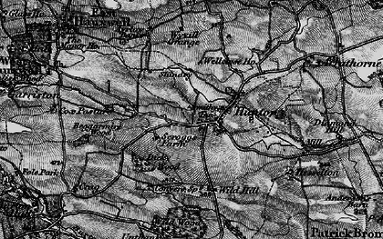 Old map of Wild Wood in 1897