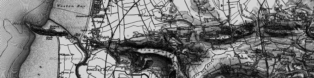 Old map of Hutton in 1898