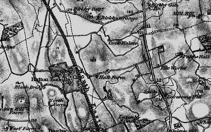 Old map of Lazenby Grange in 1898