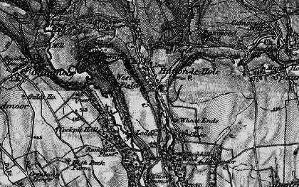 Old map of Wheat Lund in 1898