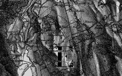 Old map of Thwaite Hall in 1897
