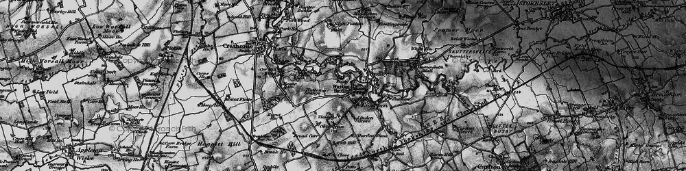 Old map of Hutton Rudby in 1898