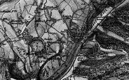Old map of Ibberton in 1898