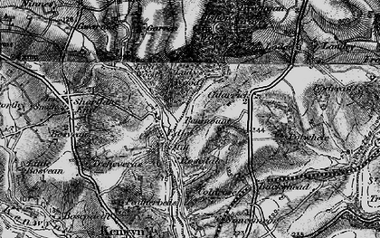 Old map of Idless in 1895
