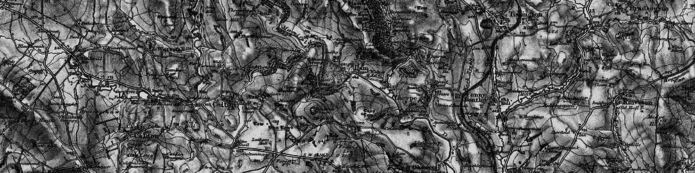 Old map of Ilam in 1897