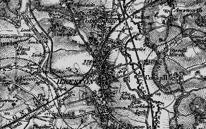 Old map of Ilkeston in 1895