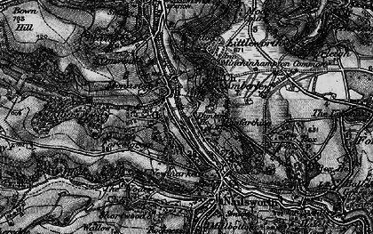 Old map of Inchbrook in 1897