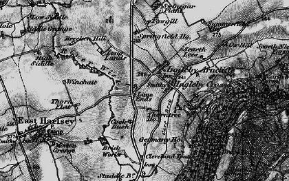 Old map of Winchatt in 1898