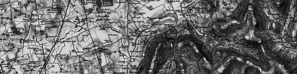 Old map of Ingleby Cross in 1898