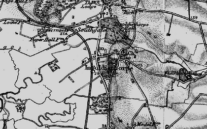 Old map of Ingoldisthorpe in 1893