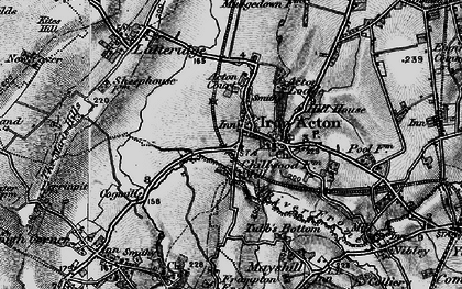 Old map of Algars Manor in 1898