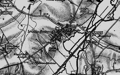 Old map of Irthlingborough in 1898