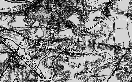 Old map of Ambro Hill in 1895