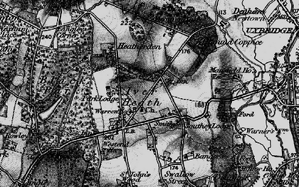 Old map of White Lo in 1896