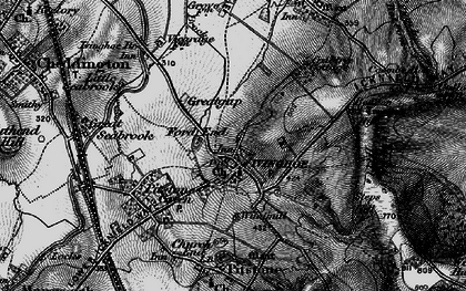 Old map of Ivinghoe in 1896