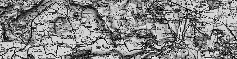Old map of Addlethorpe Grange in 1898